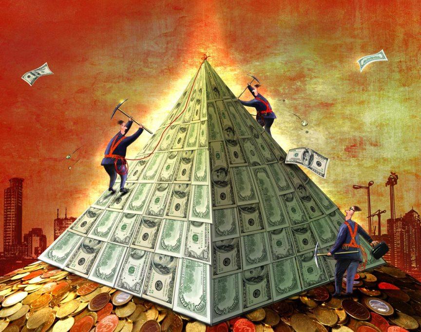 72% Россиян не смогли распознать финансовую пирамиду