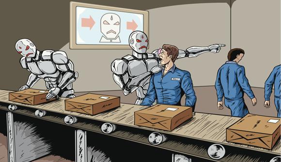Неизбежное: роботы начинают и …?